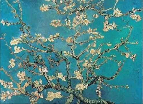Van Gogh Blossoming Almond Tree 1890 wikimedia